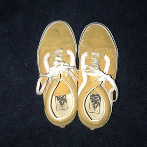 Yellow vans sneakers